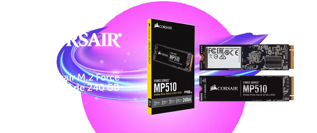 SSD Corsair M.2 Force Series MP510 de 240 GB