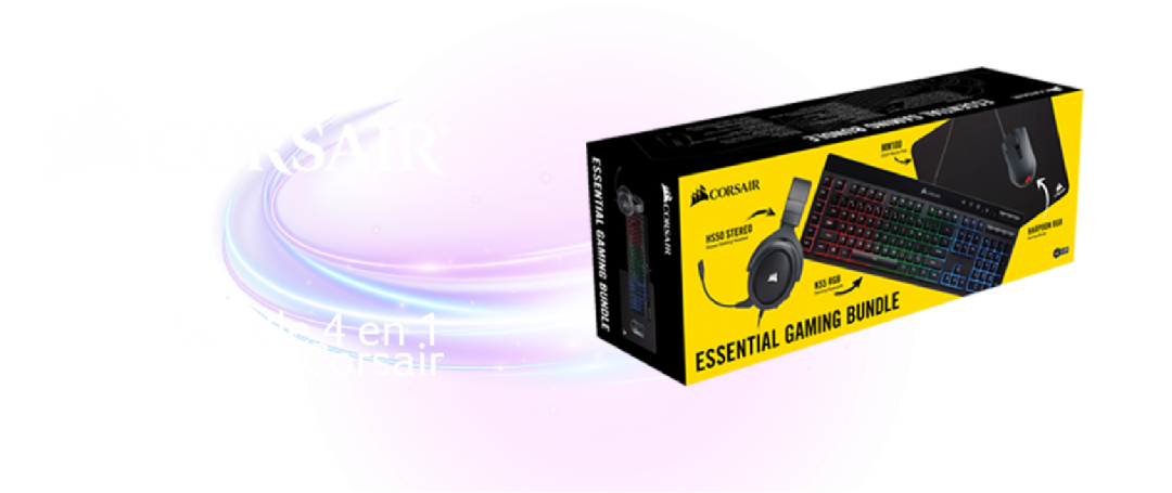 Bundle essential Corsair 4 en 1